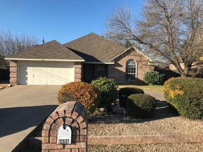 Granbury Single Family Home For Sale: 5608 Cuero Drive