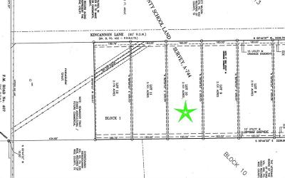 Rhome Residential Lots & Land For Sale: Lot 10 Kincannon Lane