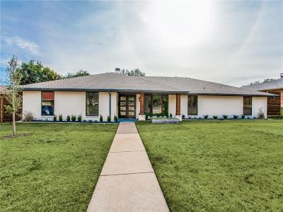 Dallas Single Family Home For Sale: 4332 Rickover Drive