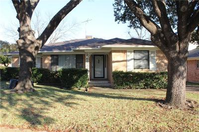 Dallas Single Family Home For Sale: 6343 Saratoga Circle
