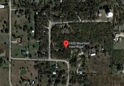 Joshua Residential Lots & Land For Sale: 2400 Mountain View Road