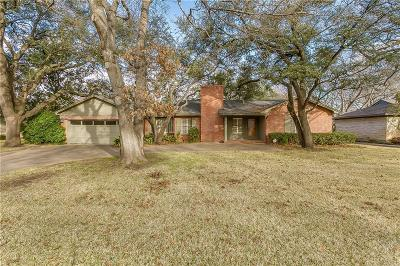 Fort Worth Single Family Home Active Option Contract: 3824 Winslow Drive