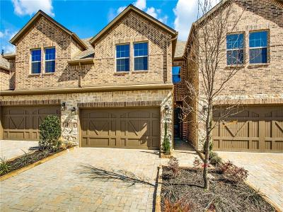 Plano Townhouse For Sale: 6404 Hermosa Drive