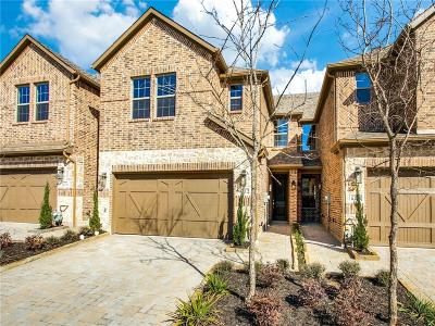 Plano Townhouse For Sale: 6412 Hermosa Drive