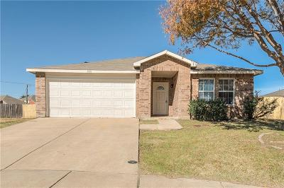 Fort Worth Single Family Home Active Option Contract: 8921 Preakness Circle