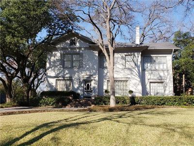 Highland Park Single Family Home For Sale: 3912 Miramar Avenue