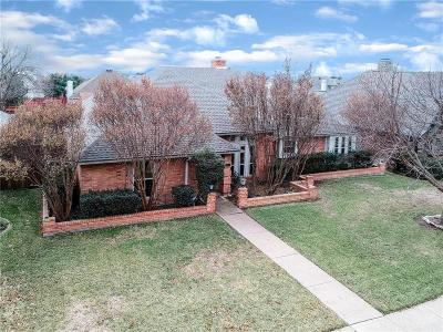 Carrollton Single Family Home For Sale: 2526 Belmeade Drive