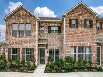 Denton County Townhouse For Sale: 2421 Merriweather Lane