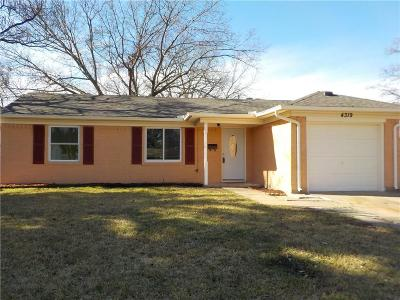 Mesquite Single Family Home For Sale: 4319 Hyde Park Drive
