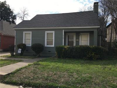 Fort Worth Residential Lease For Lease: 3140 Rogers Avenue