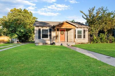 Fort Worth Single Family Home For Sale: 3116 Fairview Street