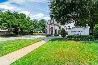 Single Family Home For Sale: 18201 Frankford Lakes Circle