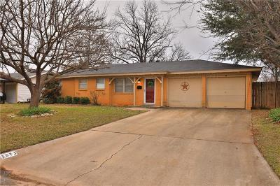 Single Family Home For Sale: 3873 Laurel Drive