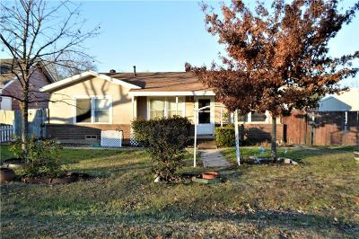 Justin Single Family Home For Sale: 312 W 7th Street
