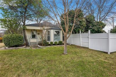 Fort Worth Single Family Home For Sale: 2612 Benbrook Boulevard
