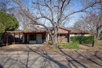 Little Elm Single Family Home Active Option Contract: 109 Black Street