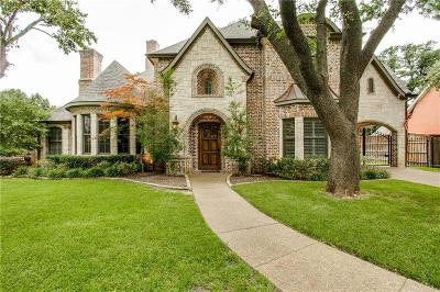 Dallas Single Family Home For Sale: 6412 Azalea Lane