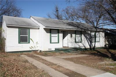 Arlington Single Family Home For Sale: 1604 Connally Terrace