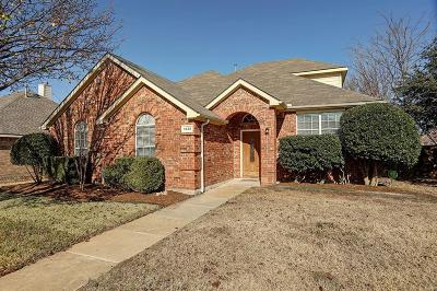 Allen Single Family Home For Sale: 1425 Autumnmist Drive