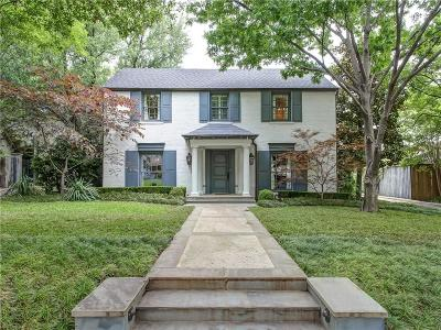 Fort Worth Single Family Home For Sale: 3912 Lenox Drive