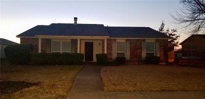 Rowlett Single Family Home Active Option Contract: 5309 Highgate Lane