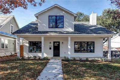 Fort Worth Single Family Home For Sale: 3000 Ryan Avenue