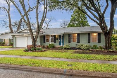 Richardson Single Family Home For Sale: 1312 Cloverdale Drive