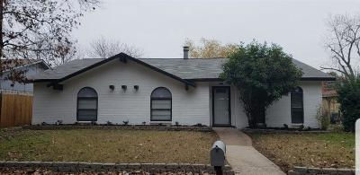 Grand Prairie Single Family Home Active Option Contract: 3514 S Elm Drive