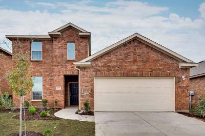 Little Elm Single Family Home For Sale: 1605 Angus Drive