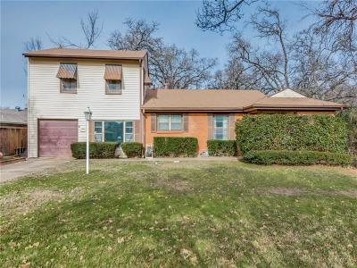 Irving Single Family Home Active Option Contract: 803 Bluebird Drive