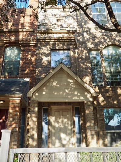 Dallas County Townhouse For Sale: 2018 N Haskell Avenue