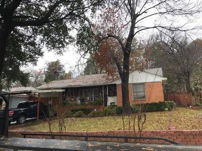 Dallas County Single Family Home For Sale: 3135 E Latta Circle
