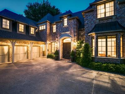 Dallas Single Family Home For Sale: 6739 Meadow Road