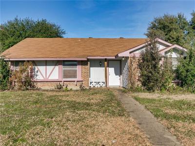 Seagoville Single Family Home For Sale: 1303 Ross Lane