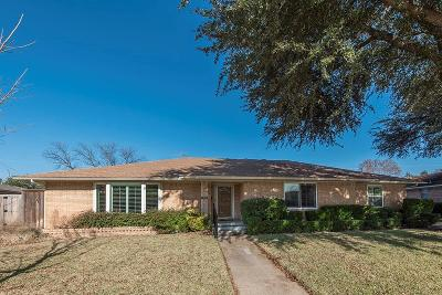 Garland Single Family Home For Sale: 1612 Patton Drive
