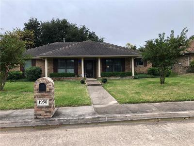 Denton County Single Family Home For Sale: 1950 Westminster Drive