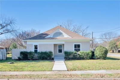Fort Worth Single Family Home For Sale: 2900 Milam Street