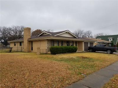 Garland Single Family Home Active Option Contract: 107 N Bernice Drive