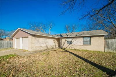Denton Single Family Home Active Option Contract: 2415 College Park Drive