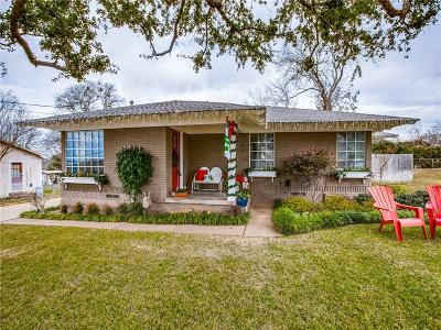 Rockwall Single Family Home For Sale: 504 W Kaufman Street