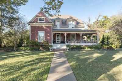 Mckinney Single Family Home Active Option Contract: 1502 W Virginia Street