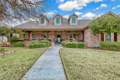 Aledo Single Family Home Active Option Contract: 202 Autumnwood Drive