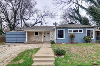 Fort Worth Single Family Home For Sale: 6705 Greenlee Street