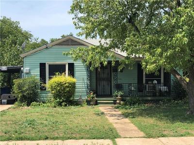 Dallas County Single Family Home For Sale: 6915 Lockheed Avenue