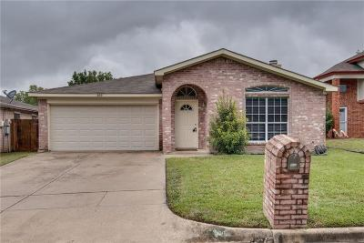 Keller Single Family Home For Sale: 209 Colt Lane