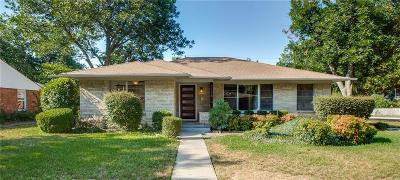 Dallas Single Family Home For Sale: 3306 Lockmoor Lane