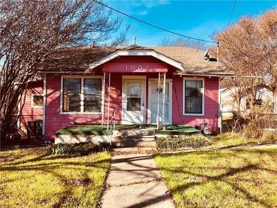 Dallas Single Family Home For Sale: 1007 S Clinton Avenue
