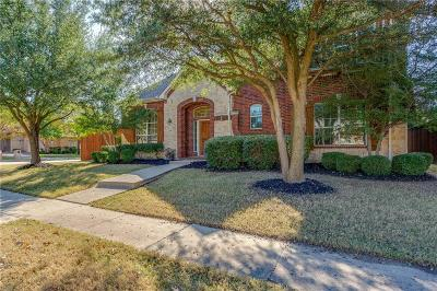 Frisco Single Family Home Active Option Contract: 2557 Foxcreek Drive