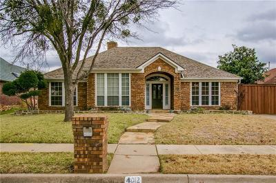 Carrollton Single Family Home For Sale: 4012 Ridgecrest Trail