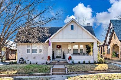 Tarrant County Single Family Home For Sale: 3725 W 7th Street